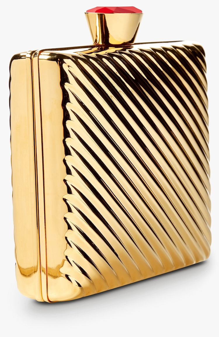 Brass Clutch Stella McCartney