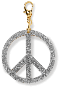 Peace Sign Charm image two