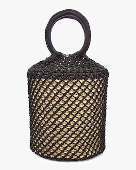 Straw Netted Bag