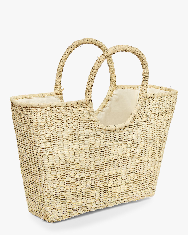 Round Handle Canasta Bag