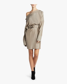 Sash Shirt Dress