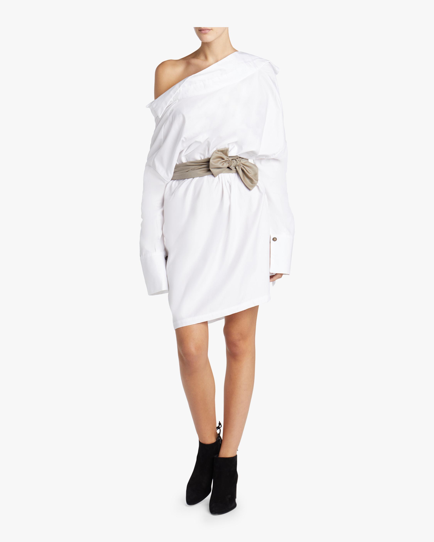 Sash Shirt Dress