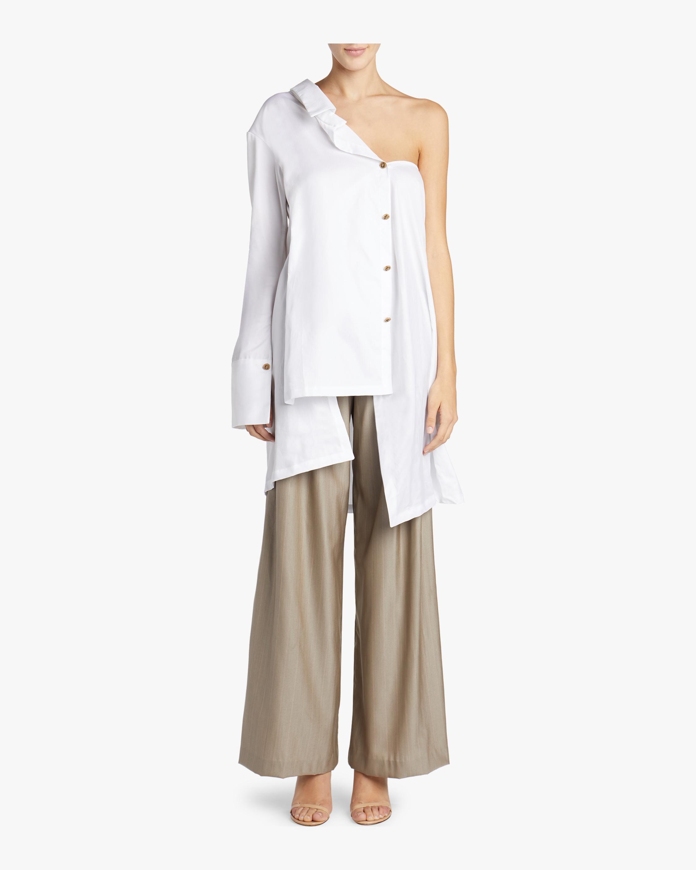 Asymmetrical Two Way Long Shirt