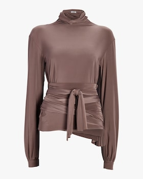 Wrap Waist Blouse