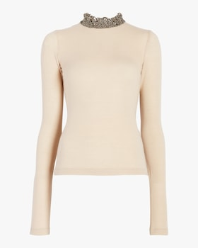Nathalie Long Sleeve Knit Top
