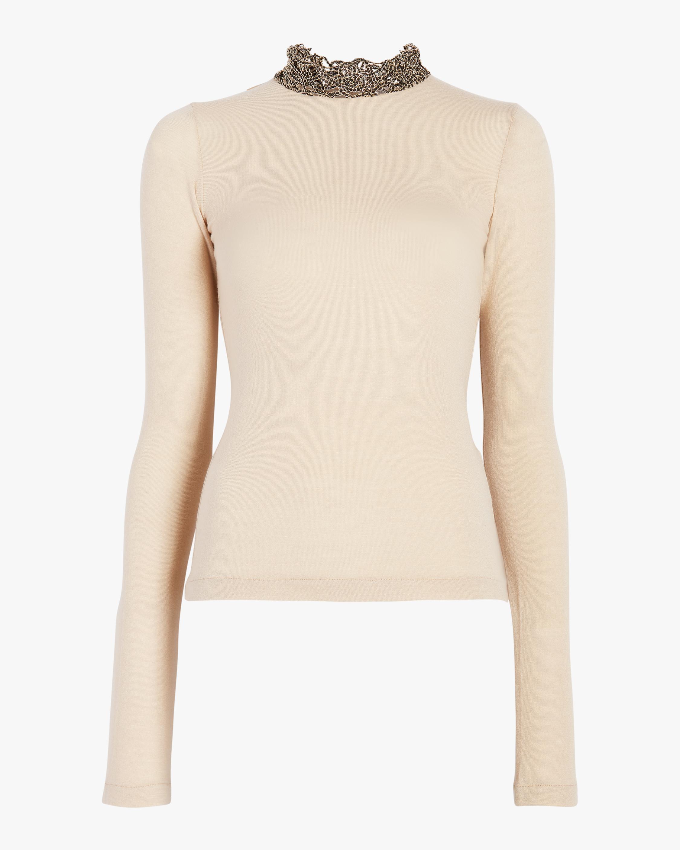 Nathalie Long Sleeve Knit Top
