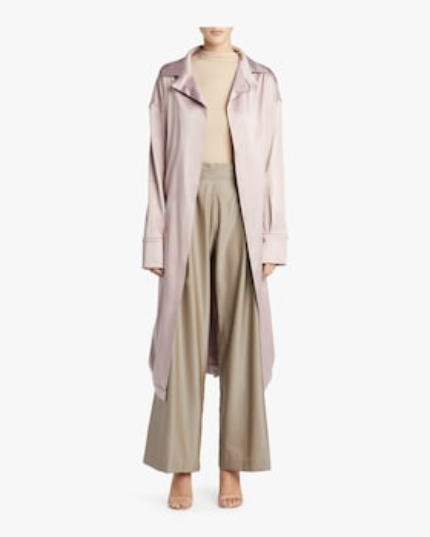 Shirt Style Sash Robe