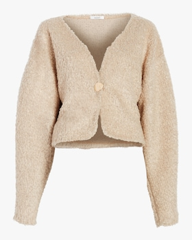 Isabelle Wool Boucle Cardigan