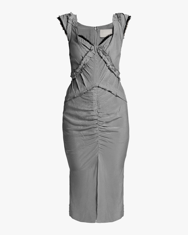 Gingham Sleeveless Day Dress