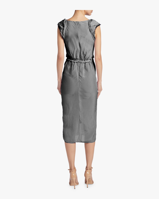 Gingham Sleeveless Day Dress Jason Wu