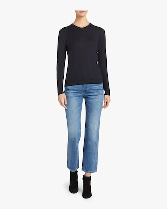 Cashmere Jersey Sweater