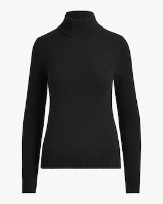 Lofty Cashmere Turtleneck Sweater
