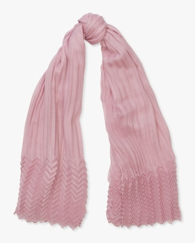 Cashmere Pleating Scarf