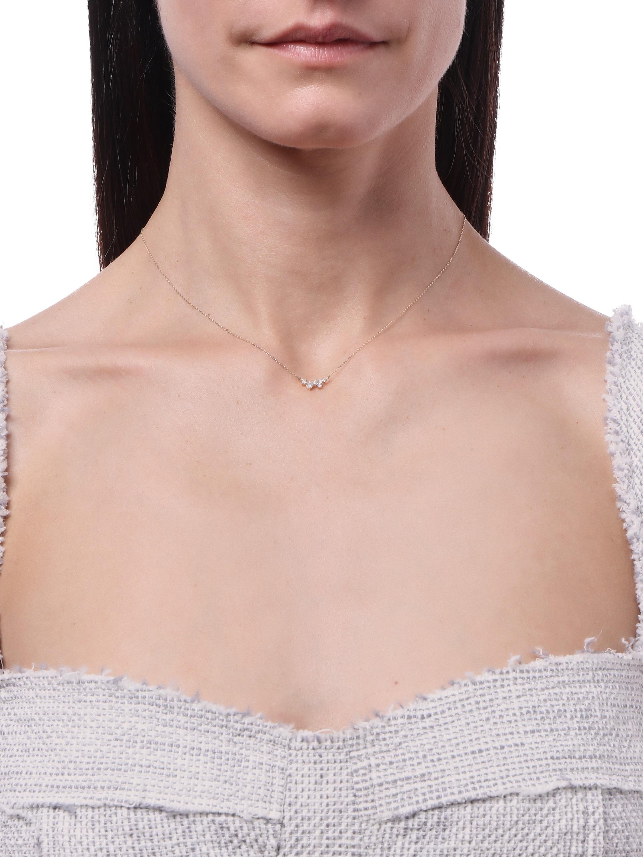 Scattered Diamond Necklace Adina Reyter