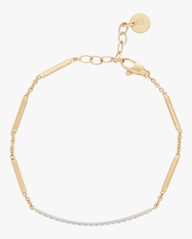 Goa Pavé Diamond Bar Bracelet
