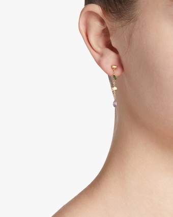 Paradise Gemstone Drop Earrings