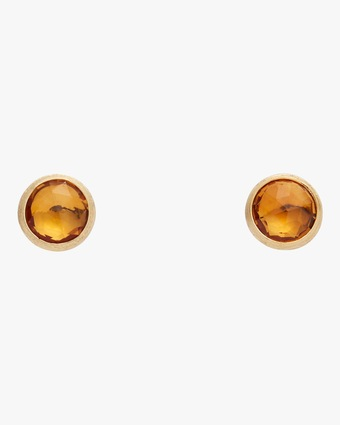Jaipur Citrine Stud Earrings