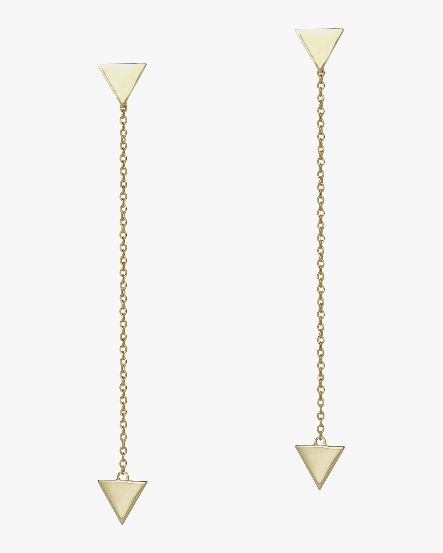 Trilogy Chain Earrings