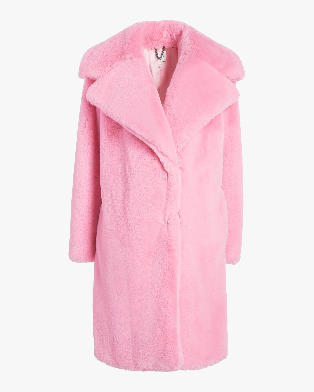 bef409707442 Milly Riley Long Coat | Olivela