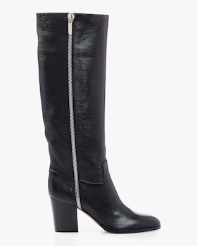 Goat Leather Tall Boot