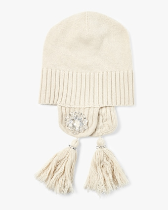 Cozy Moments Embroidered Beanie