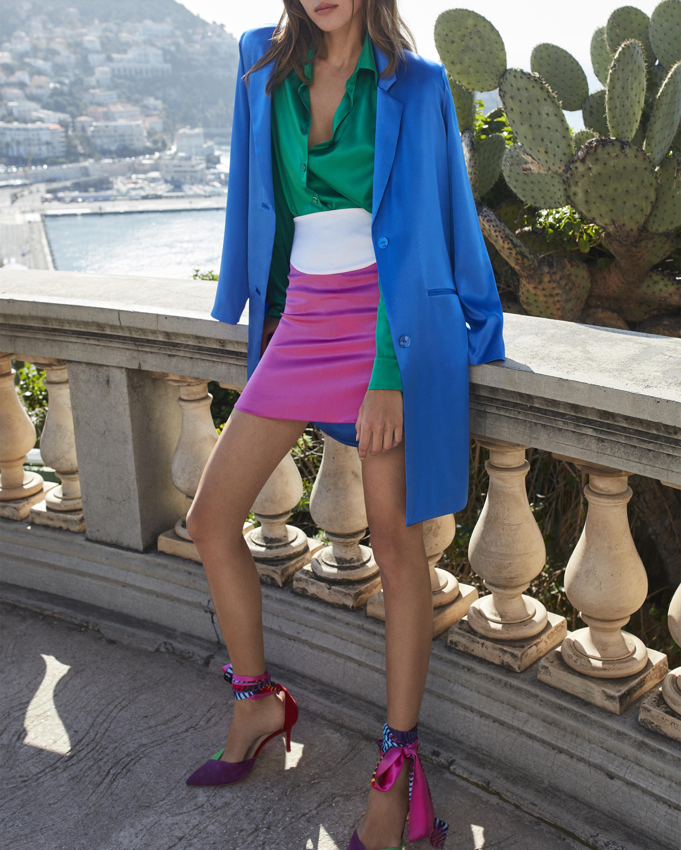 Adriana Iglesias Boyfriend Coat 2