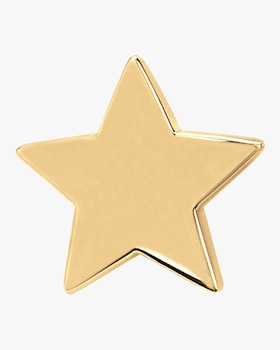 Single Gold Mini Star Stud Earring