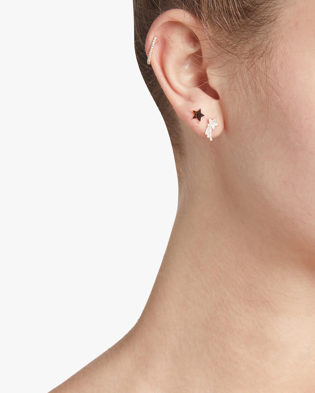 Single Gold Mini Star Stud Earring