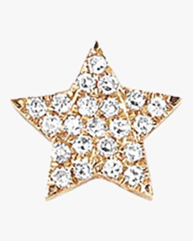 Single Diamond Star Stud Earring