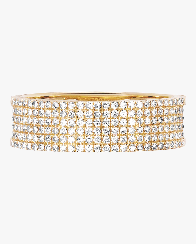 Diamond Cigar Band Ring