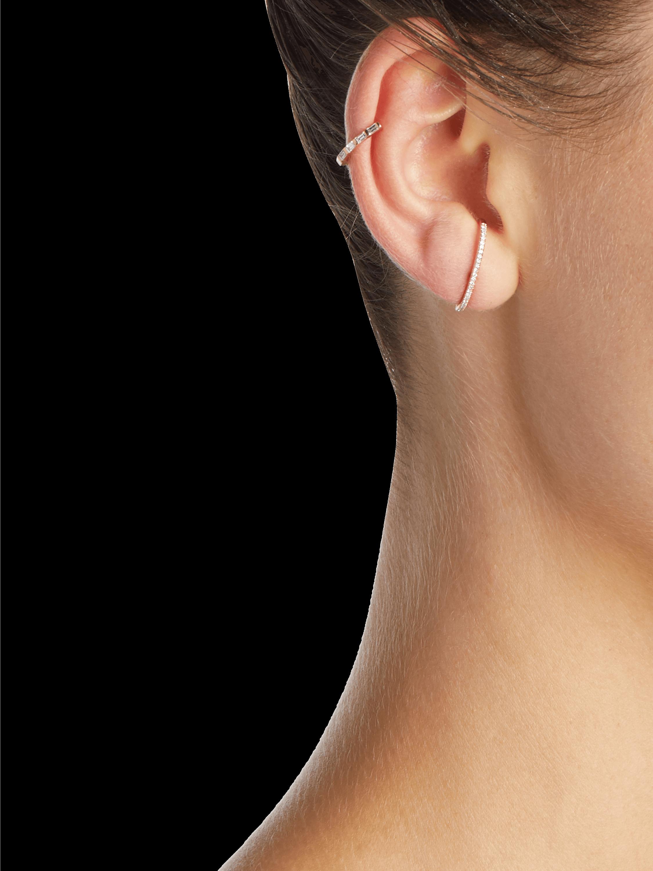 Diamond Baguette Ear Cuff