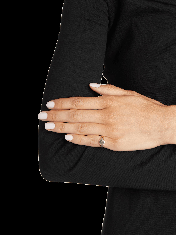 Diamond Baguette Signet Ring