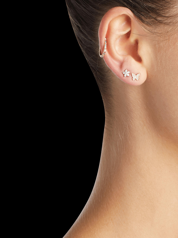 Single Rainbow Ear Cuff