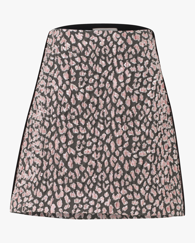 Decadent Leopard Mini Skirt