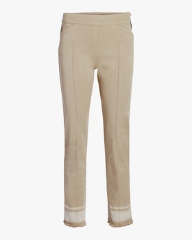 Casual Freshness Slim-Fit Pants
