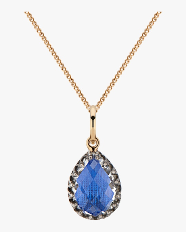 Larkspur & Hawk Lady Jane Small Pear Charm Necklace 0