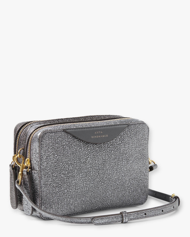 Stack Double Wallet Crossbody Bag