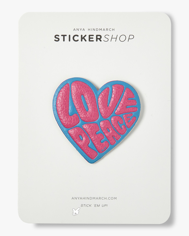Love & Peace Sticker