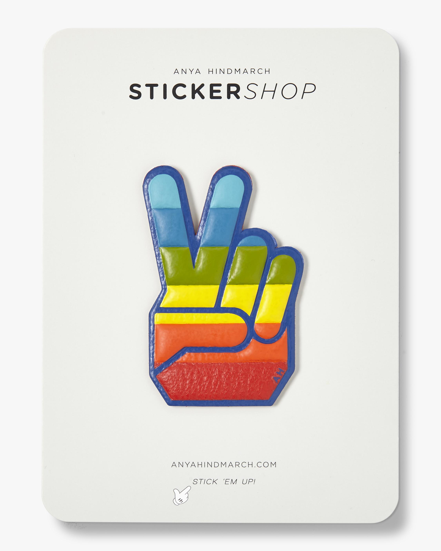 Victory Hand Sticker