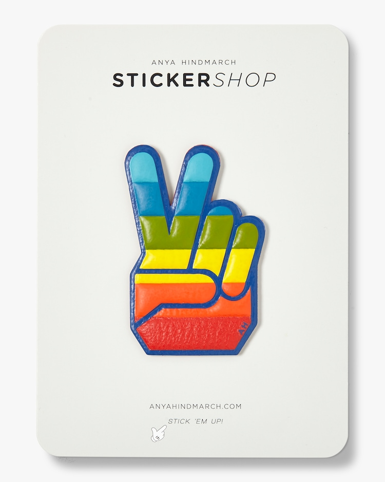 Victory Hand Sticker Anya Hindmarch