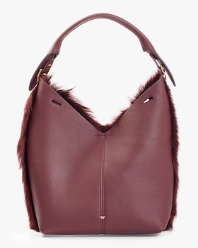 Long Shearling Small Build a Bag