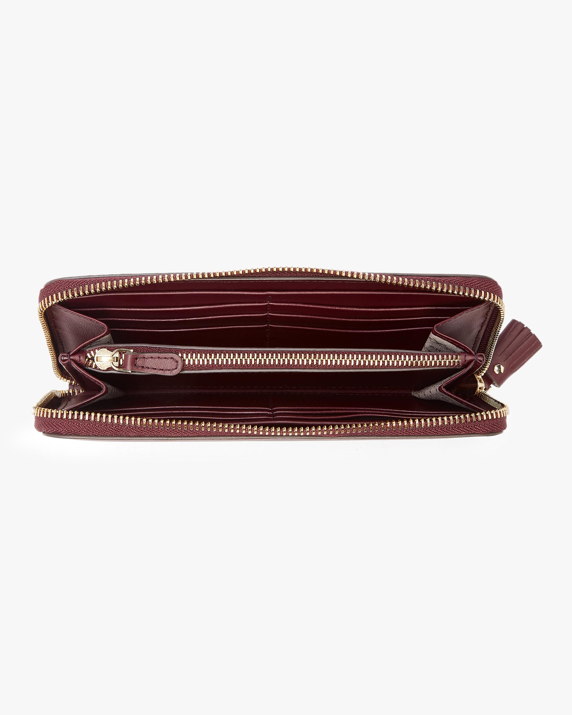 Rainbow Wink Large Zip Around Wallet Anya Hindmarch