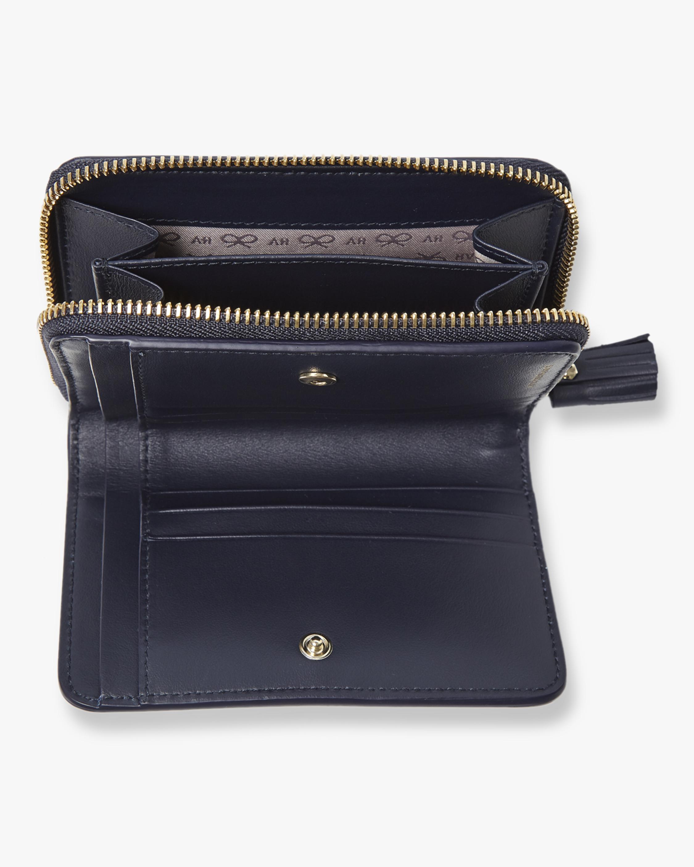 Rainbow Wink Compact Wallet Anya Hindmarch