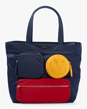 Multi Pocket Chubby Wink Tote