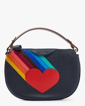 Rainbow Heart Soft Stack Crossbody
