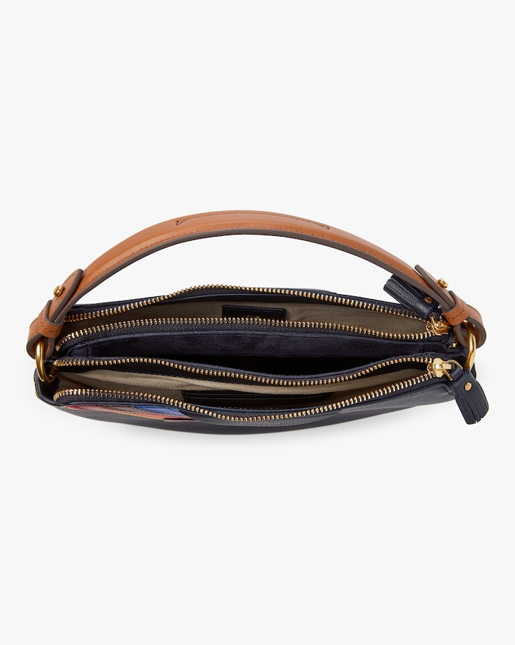 Rainbow Heart Soft Stack Crossbody Anya Hindmarch