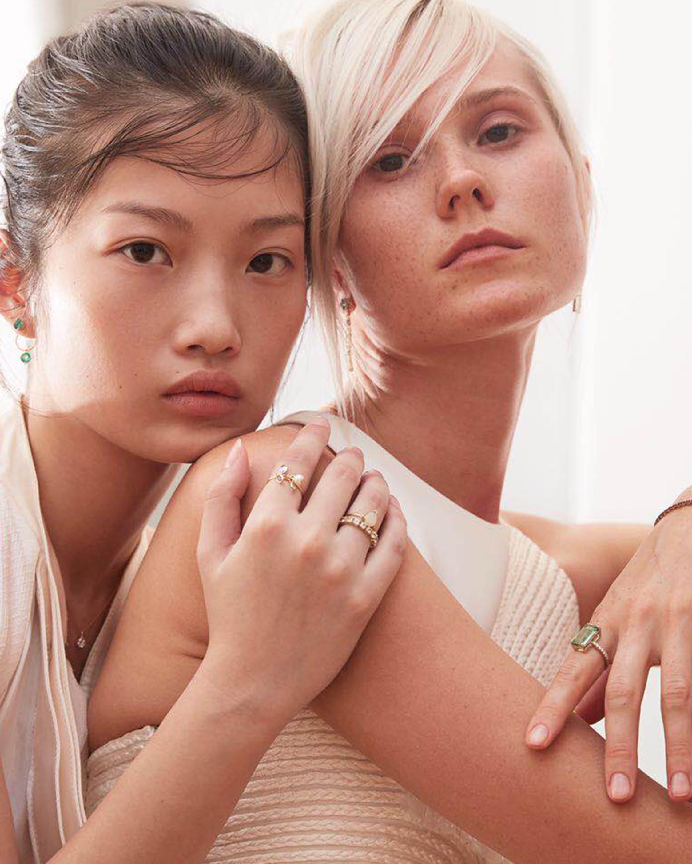 Yi Collection Tourmaline and White Diamond Ring 1