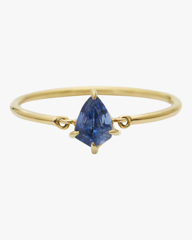 Ceylon Sapphire Kite Ring