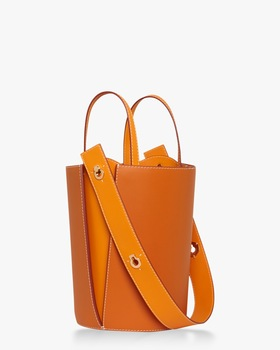 Mini Lorna Leather Bucket Bag