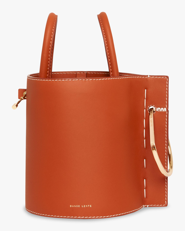Bobbi Leather Bucket Bag